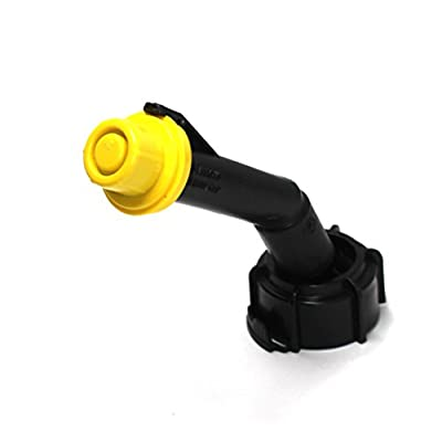 3 Pack Replacement Yellow SPOUT CAPS Top Hat Style fits # 900302 900092 Blitz Gas Can Spout Cap fits self Venting Gas can Aftermarket (SPOUTS NOT Included): Industrial & Scientific