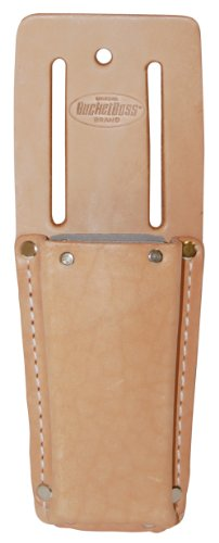 Knife Bucket (Bucket Boss 55068 Top Grain Leather Knife Sheath Fiber Lined)