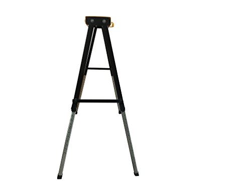 Single Pack Steel Multi Purpose Folding Legs and 12 Position Height Adjustable Sawhorse Brackets Capacity 250LBS by CASTOOL (Image #4)
