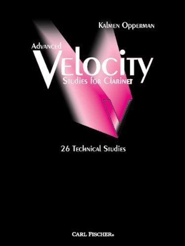O5434 - Advanced Velocity Studies for Clarinet