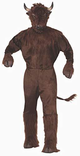 Forum Novelties Unisex-Adult's Standard Buffalo Mascot Costume, as as Shown, Standard ()