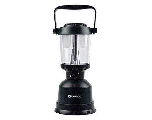Dorcy 400-Lumen Waterproof Floating Outdoor Twin Globe LED Lantern with Hanger Hook and Handle, Green (41-3108) ()