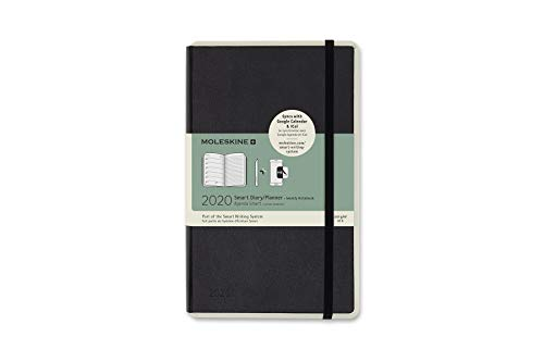 Moleskine 2020 Weekly Smart Planner, 12m, Large, Black