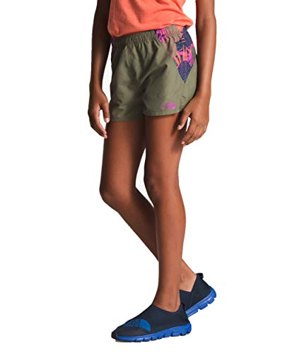 Clover Kids Hoodie - The North Face Kids Girl's Class V Water Shorts (Little Kids/Big Kids) Four Leaf Clover Large