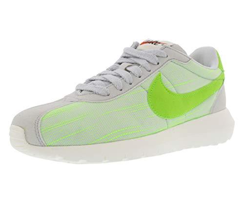 NIKE Women Sneakers W Roshe LD-1000 Grey-Neon Green-White 819843-004, Size EUR:38.5