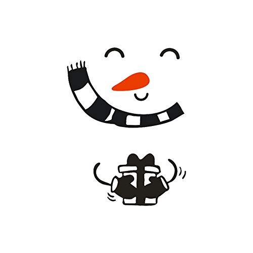 Clearance Sale!UMFun Christmas Fridge Sticker Happy Delicious Kitchen