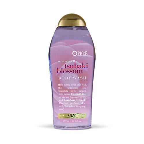OGX Sensually Soft + Tsubaki Blossom Body Wash, 19.5 Ounce