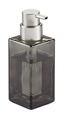 mDesign Dosificador de jabón en espuma recargable con 414 ml de capacidad – Dispensador de jabón