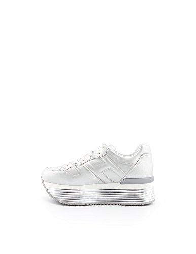 Les Femmes Hogan Hxw3520t548i6eb200 Chaussures En Cuir Dargent
