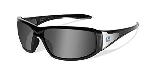 John Deere Wiley X Avert-X Safety Sunglasses Gray - John Deere Sunglasses