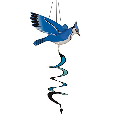 In the Breeze Blue Jay Theme Twister ()