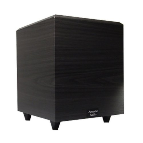 Down Active Firing Subwoofer (Acoustic Audio RWSUB-6 Down Firing Powered Subwoofer (Black))