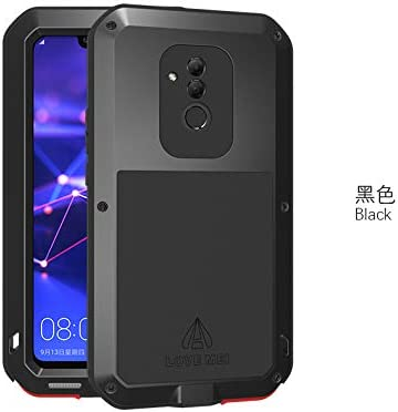 Curved line Aluminum Metal Gorilla Waterproof Cover Case For
