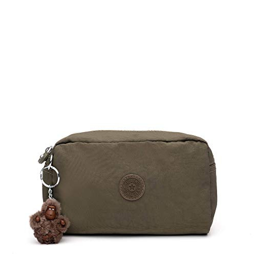 Kipling Women's Gleam, Multi Use Pouch, Zip Closure, Jaded Green Tonal