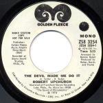 - the devil made me do it / mono 45 rpm single