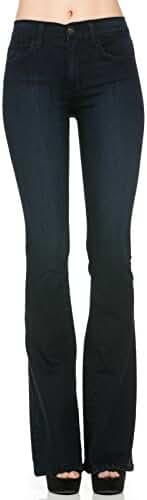 O2 Denim Women's Denim Flare Jeans Size 24-31 Made in USA