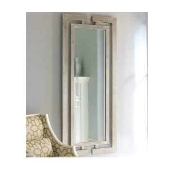 Xl long full length silver wall floor mirror for Long silver wall mirror