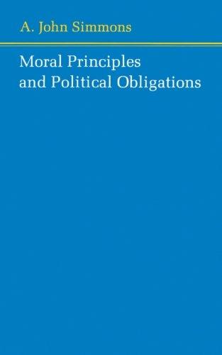 Moral Principles and Political Obligations