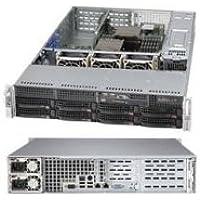 SUPERMICRO CSE-825TQ-R740WB / Supermicro SuperChassis CSE-825TQ-R740WB 740W 2U Rackmount Server Chassis (Black)