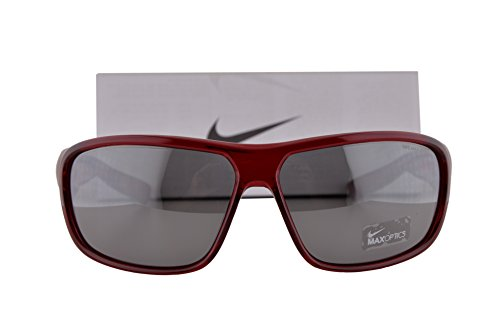 Nike EV0955 Mercurial 8.0 Sunglasses Cardinal Red w/Gray Silver Lens 601 EV - Sale Shades Nike