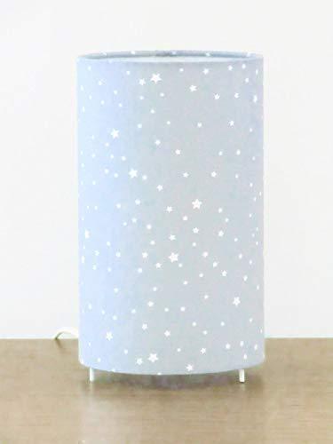 Étoiles Couleur Tube Blanches Gris Luminaire Rose Lampe Ou qR5j34AL
