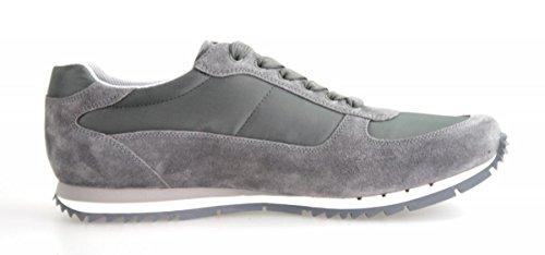 Prada Hombres 4e2721 Oqt F073e Sneaker De Cuero