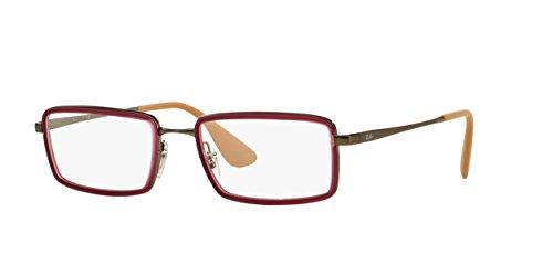 Black Rubber Optical lunettes Ban Montures Homme RX6337 Pour de Ray TzqOAnwA