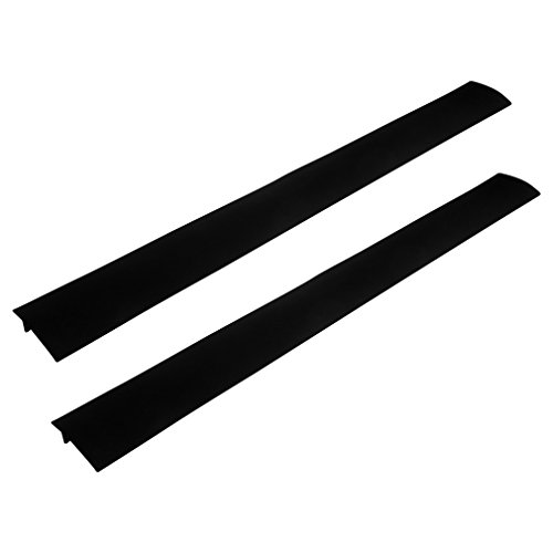 Evelots Silicone Stove Counter Gap Covers, Set of 2, Assorte