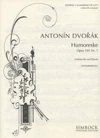 Humoresque in G Op101/7. Partituras para Cello ...