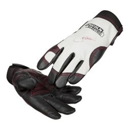 Lincoln Electric Women's Full Grain Leather Work Gloves | Padded Palm | Women's XS | K3231-XS