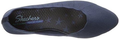 Skechers Womens Cleo Bewitch Balletto Flat Navy