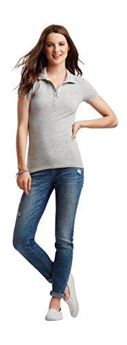 Aeropostale Womens Piqu Polo Shirt