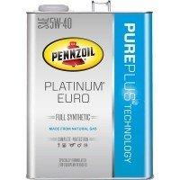 ペンズオイル プラチナム ユーロ 5W-40 SN A3/B4 化学合成油 4L×6 B01MUHTMTT