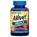 Cheap Natures Way, Alive Mens Gummy Vitamins, 75 Count