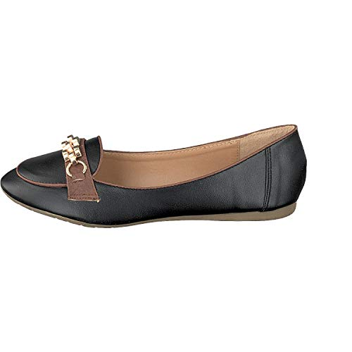 Ferrara Excedentes Linea Loafer Outlet Mujer Scarpa Negro xwprw7