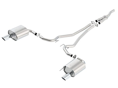 cat back exhaust system mustang - 4