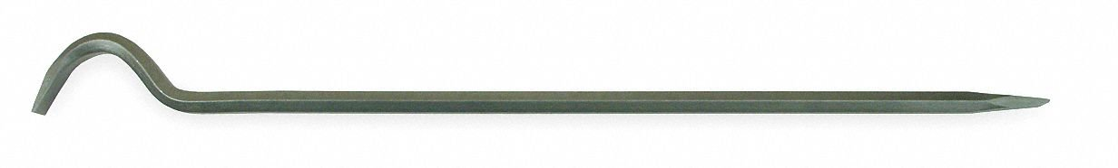 Die Separating Bar, 18'' L X 3-1/2 W, Hardened and Tempered Steel