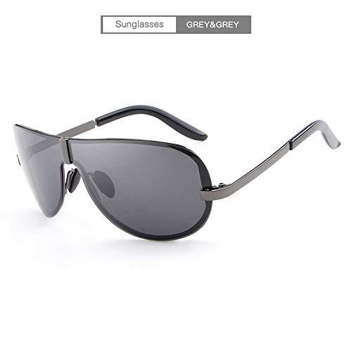 Metal Ligero Súper Polarizadas Gafas De MG Al Marco De Sol Hombres pBqvXw