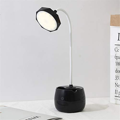 Road&Cool Light Lamp Touch Sensing Led Charging USB Learn Eye Protection Table Lamp Child Bedroom Desk Night Light Pen Holder Energy Saving (19×10×40cm)