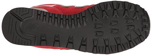 Nieuw Evenwicht Heren Ml574 Kern Plus Sneaker Rood / Rood