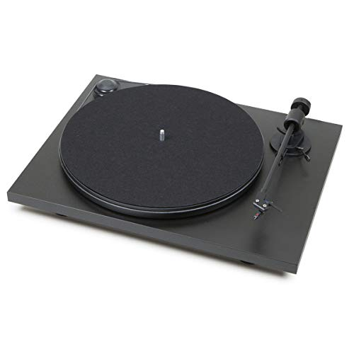Pro-Ject Primary Phono USB Audiophile Plug & Play Turntable with 8.6' Aluminum Tonearm (Matte Black)