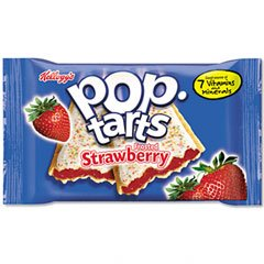 Kellogg\'s Frosted Pop-Tarts, Strawberry, 3.67 Ounce (Pack of 72)