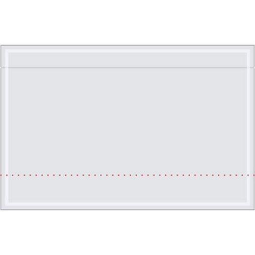 Face Stationery - Aviditi PL70 Clear Face Document Envelope, 10-3/4