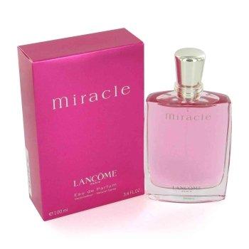 - MIRACLE by Lancome Eau De Parfum Spray 3.4 oz