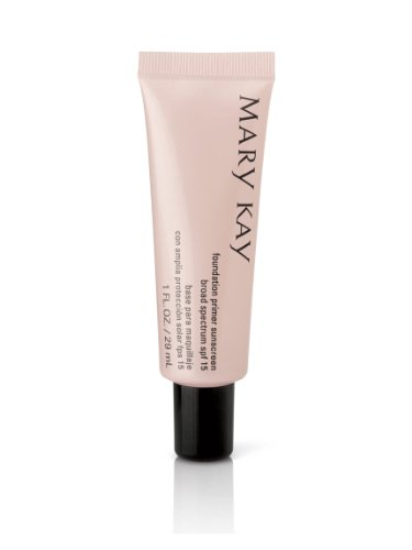 Mary Kay Foundation Primer Sunscreen Broad Spectrum SPF 15 1 fluid ounce (Best Primer For Bridal Makeup)