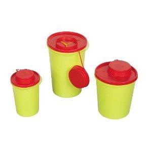 AMPRI Kanülenabwurfbehälter - 0,6 Liter - durchstichsicher - 1 Stück