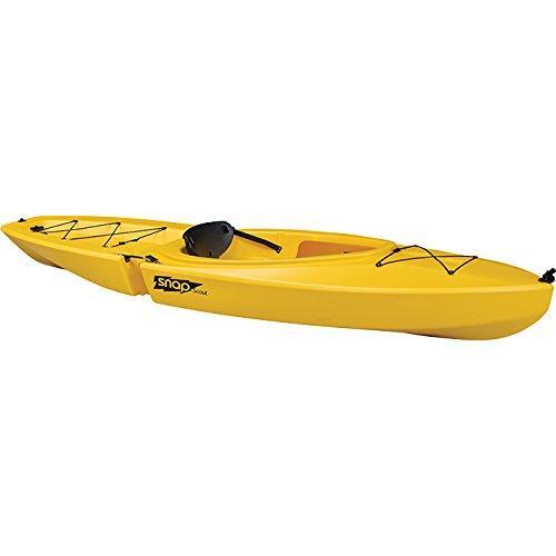 SNAP KAYAKS Snap Scout Solo Kayak, Yellow