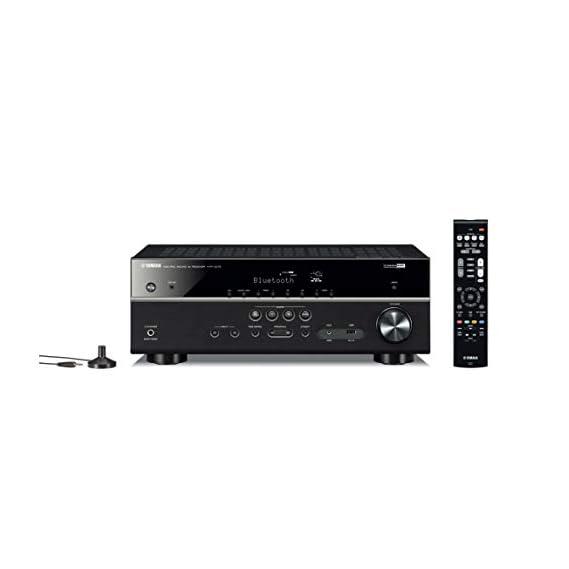 YAMAHA HTR-3072 5.1-Channel 4K Ultra HD AV Receiver with Bluetooth