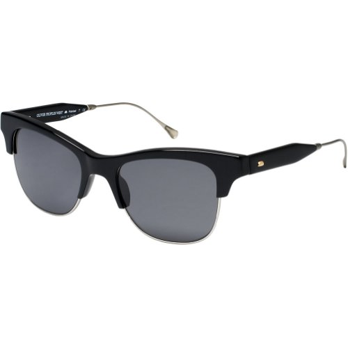 Oliver Peoples Unisex Hobson Polarized Sunglasses - Black/Grey / One Size Fits - Peoples Oliver West