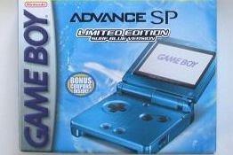 gameboy advance sp cobalt blue - 5